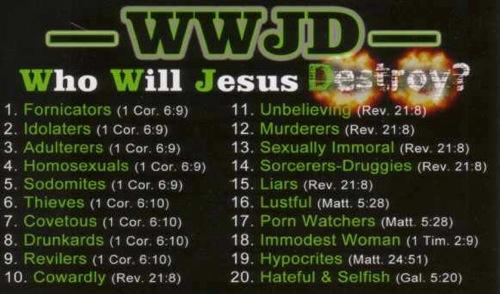 Jesus destroy