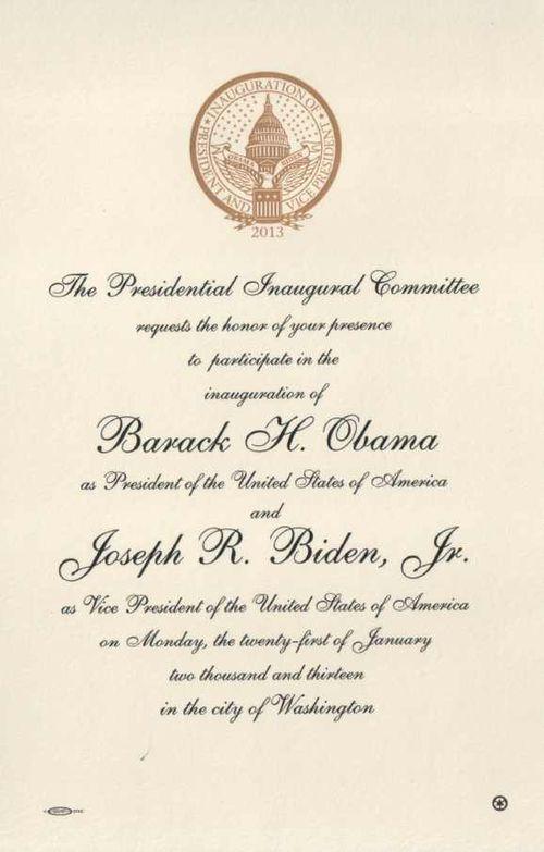 Obama-invite